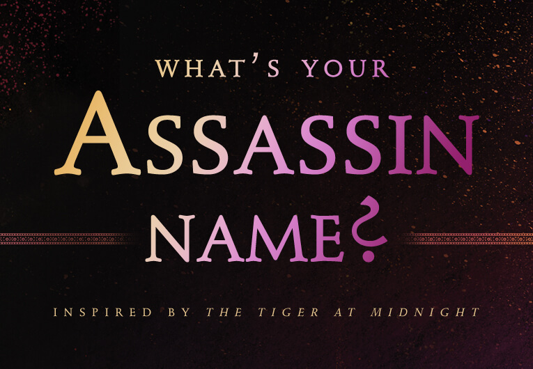 Find Out Your 'The Tiger at Midnight'-Inspired Assassin Name