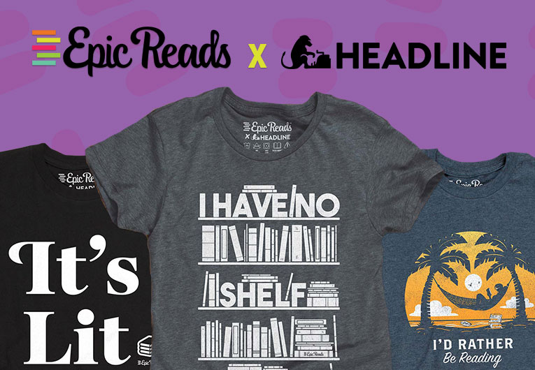 We Teamed Up with Headline to Bring You Bookish Merch!