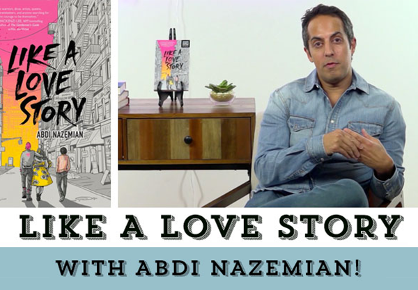 Like a Love Story Is Abdi Nazemian's Love Letter to the LGBTQIAP+ Community