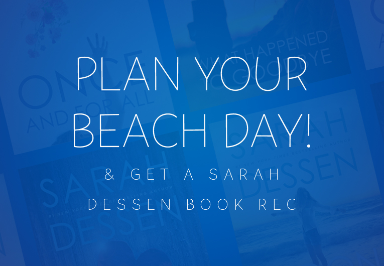 Perfect beach day: Quiz banner