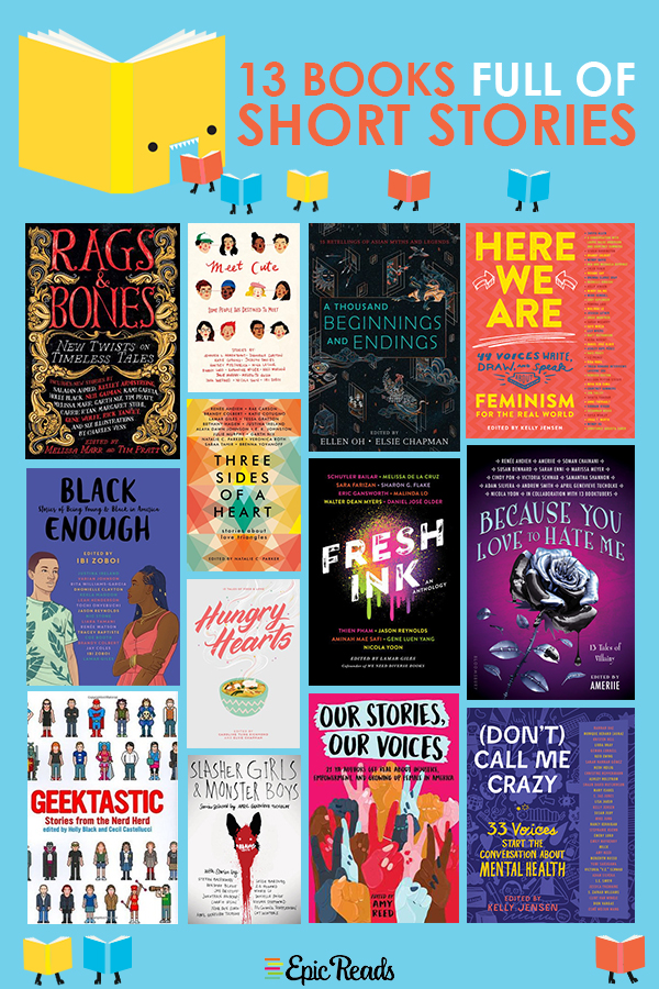 13 Young Adult Anthology and Short Story Collections Your Shelves Will Thank You For