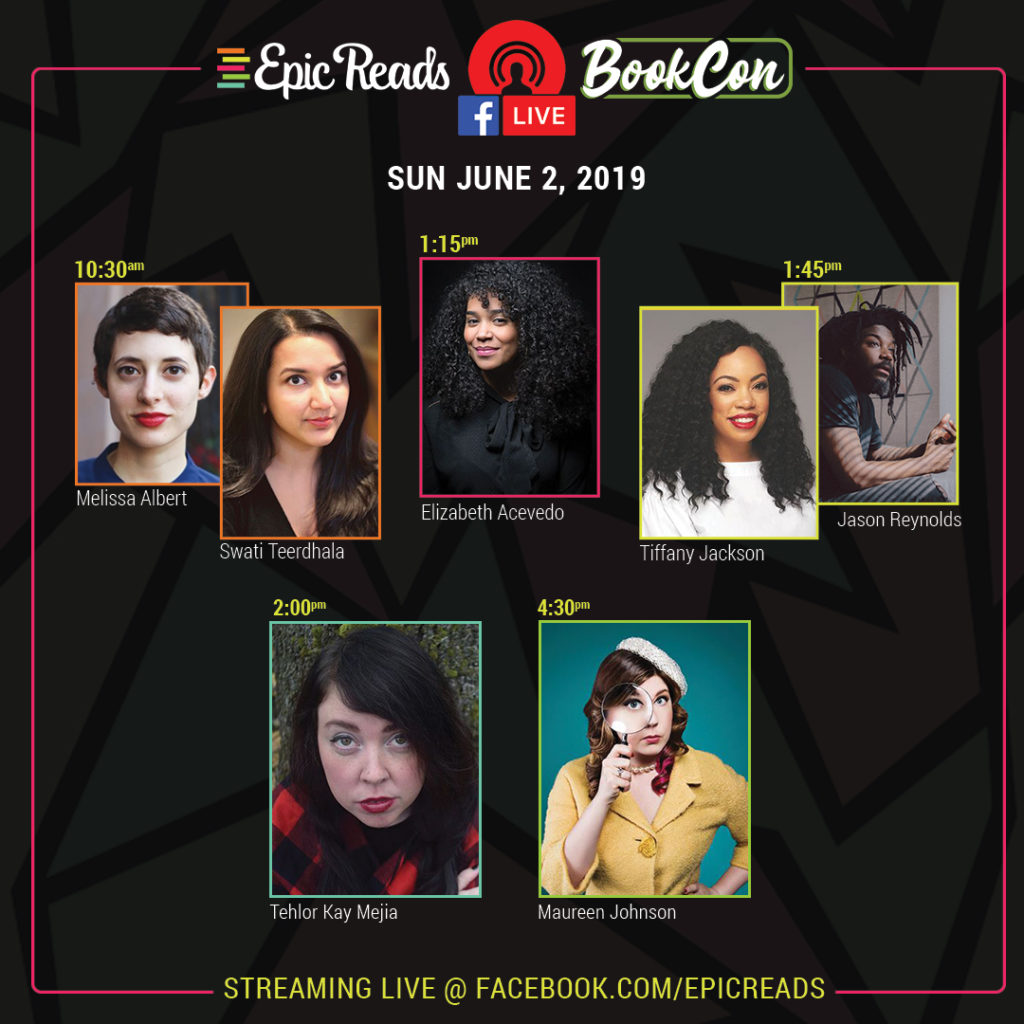 Epic Reads LIVE from BookCon!