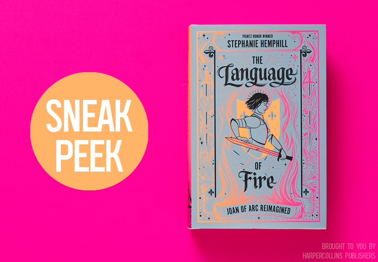 Get Inspired By This Sneak Peek of 'The Language of Fire'