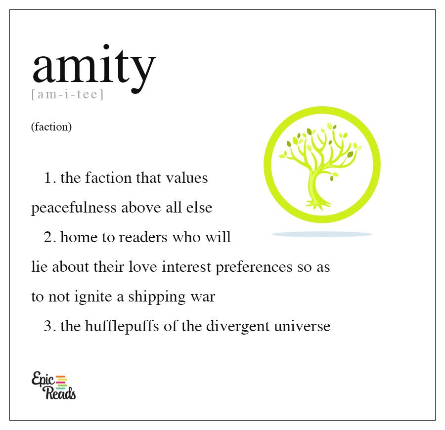 Divergent Series: Amity