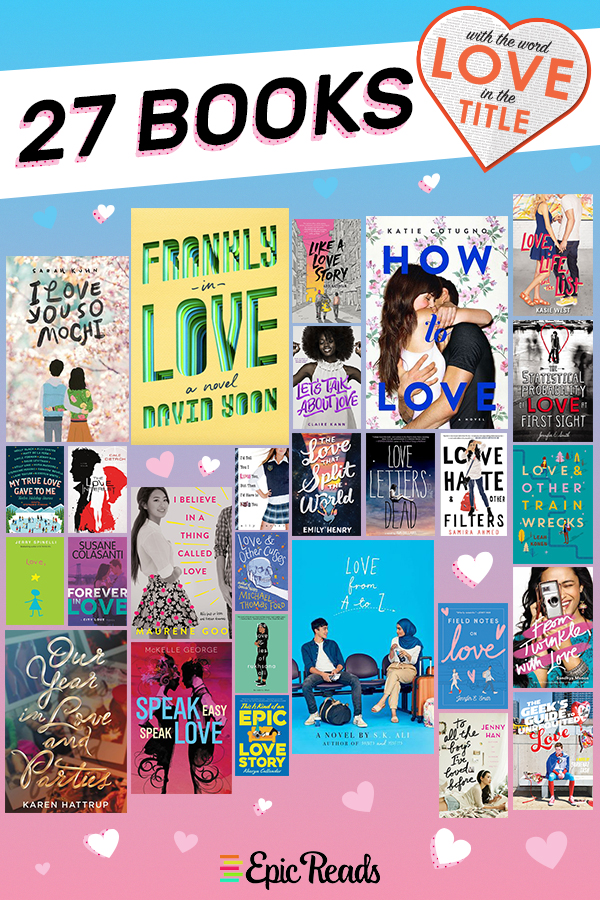 27 Books with Love in the Title