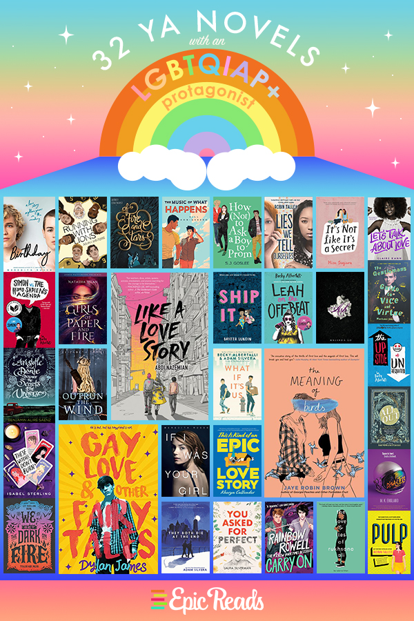 YA Pride Reading List