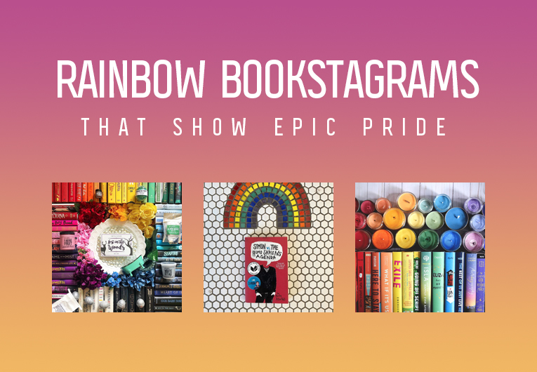 These Rainbow Bookstagrams Are Perfect for Epic Pride