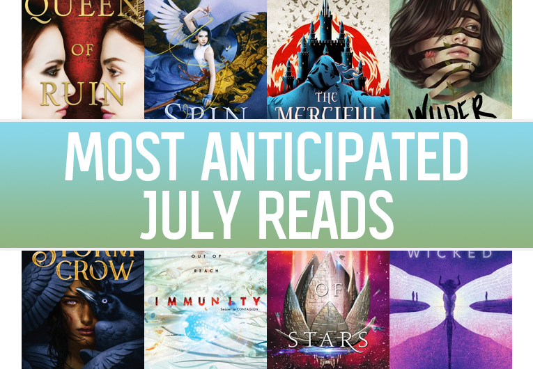 New YA Books: July Banner