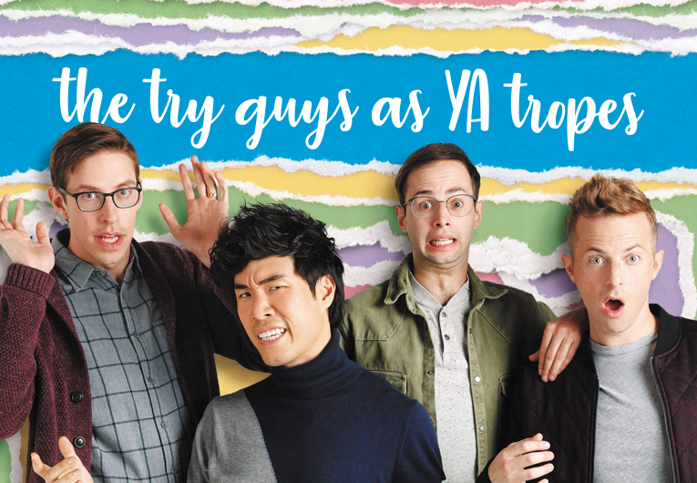 The Try Guys Tried to Match Their Personalities to YA Tropes!