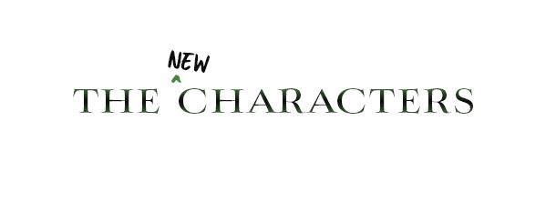 One Dark Throne: Characters