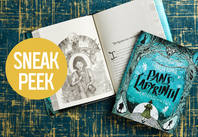 Read the First Few Chapters of 'Pan's Labyrinth' by Guillermo del Toro