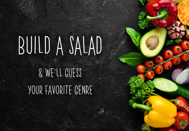 Favorite Literary Genre: Salad quiz