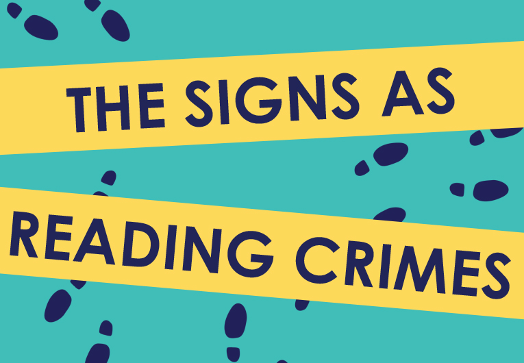 Signs as Reading Crimes: Banner
