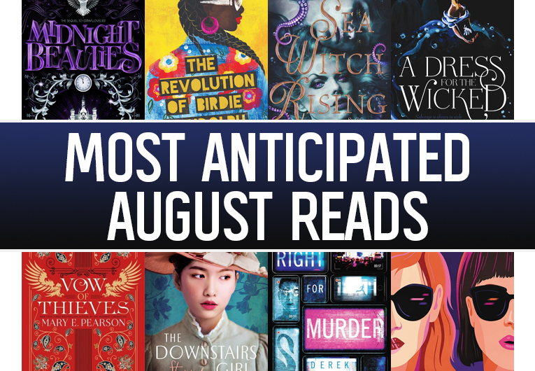 The 18 Most Anticipated YA Books to Read in August