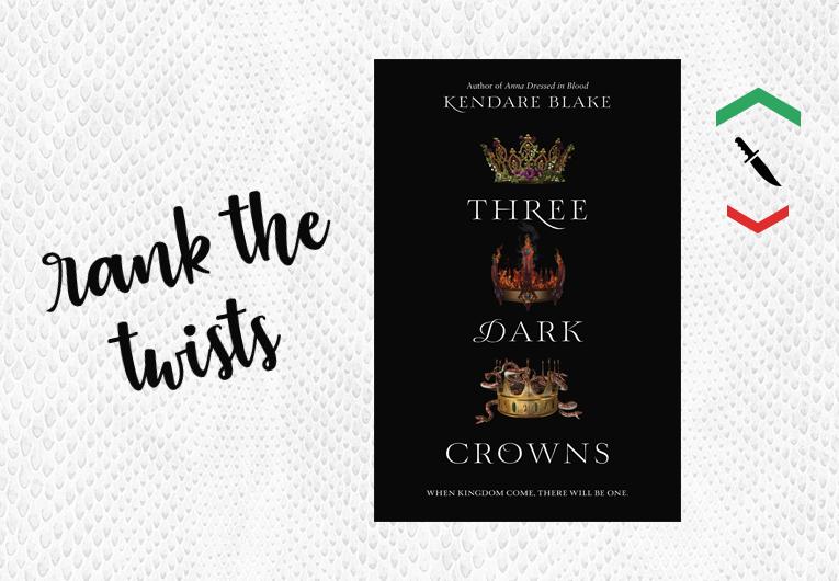 Three Dark Crowns: Plot twists banner