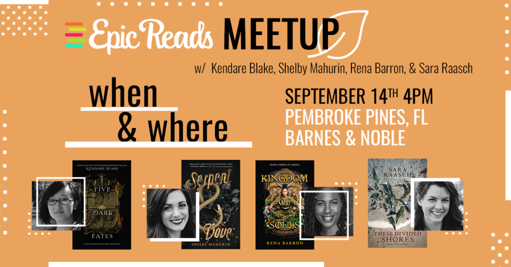 Epic Reads Fall Meetups
