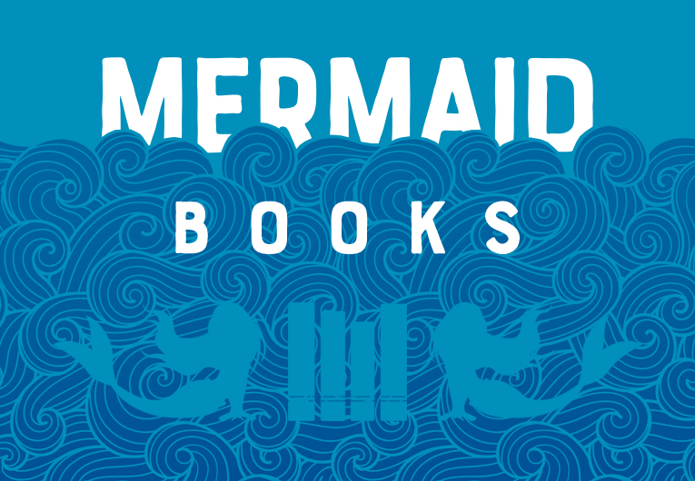 Books with mermaids: Banner