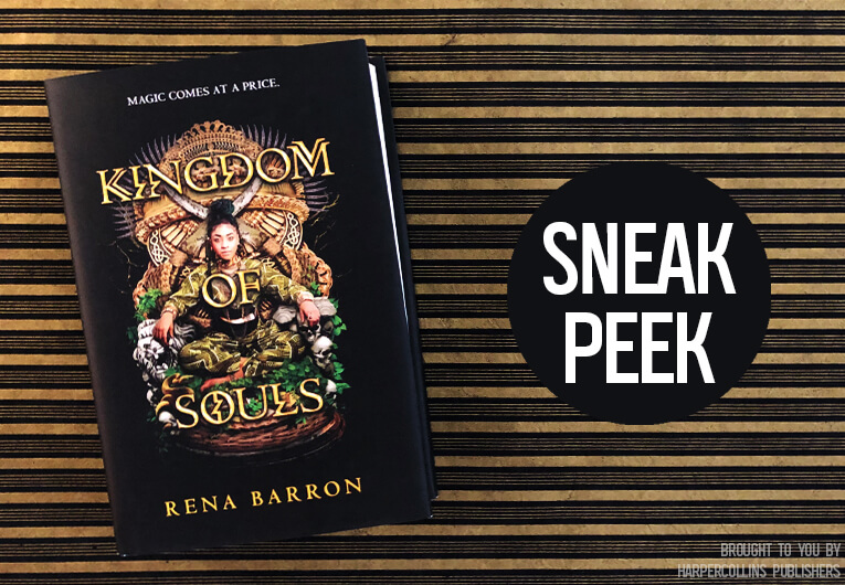 Prepare to Pay the Price For This Exclusive 'Kingdom of Souls' Excerpt