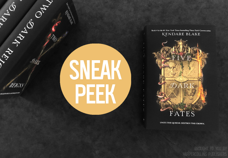 Read the First Five Chapters of Five Dark Fates