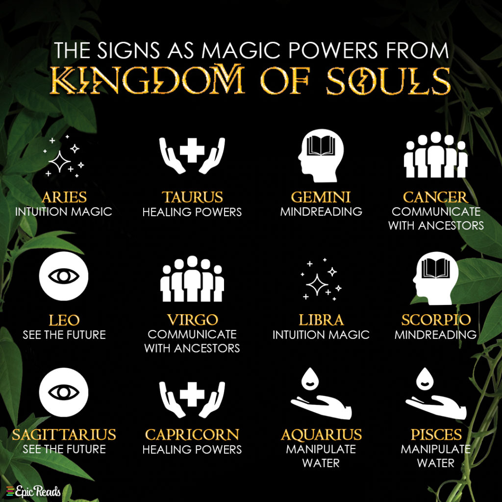 Magic Powers from Kingdom of Souls