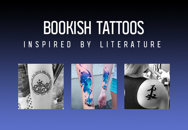 22 Book Tattoos & Designs Inspired by Literature We're Obsessed With