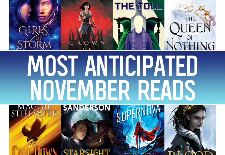 The 17 Most Anticipated YA Books to Read in November