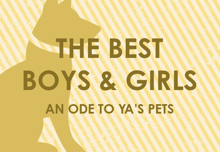 The Best Boys & Girls: In Honor of YA's Unforgettable Pets