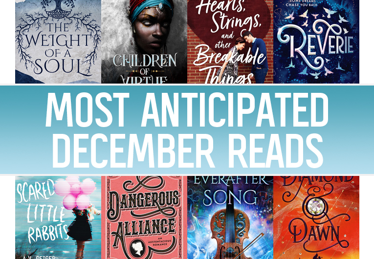 The 8 Most Anticipated YA Books to Read in December