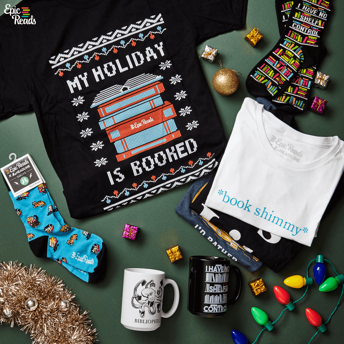 Epic Reads Gift Guide: Merch