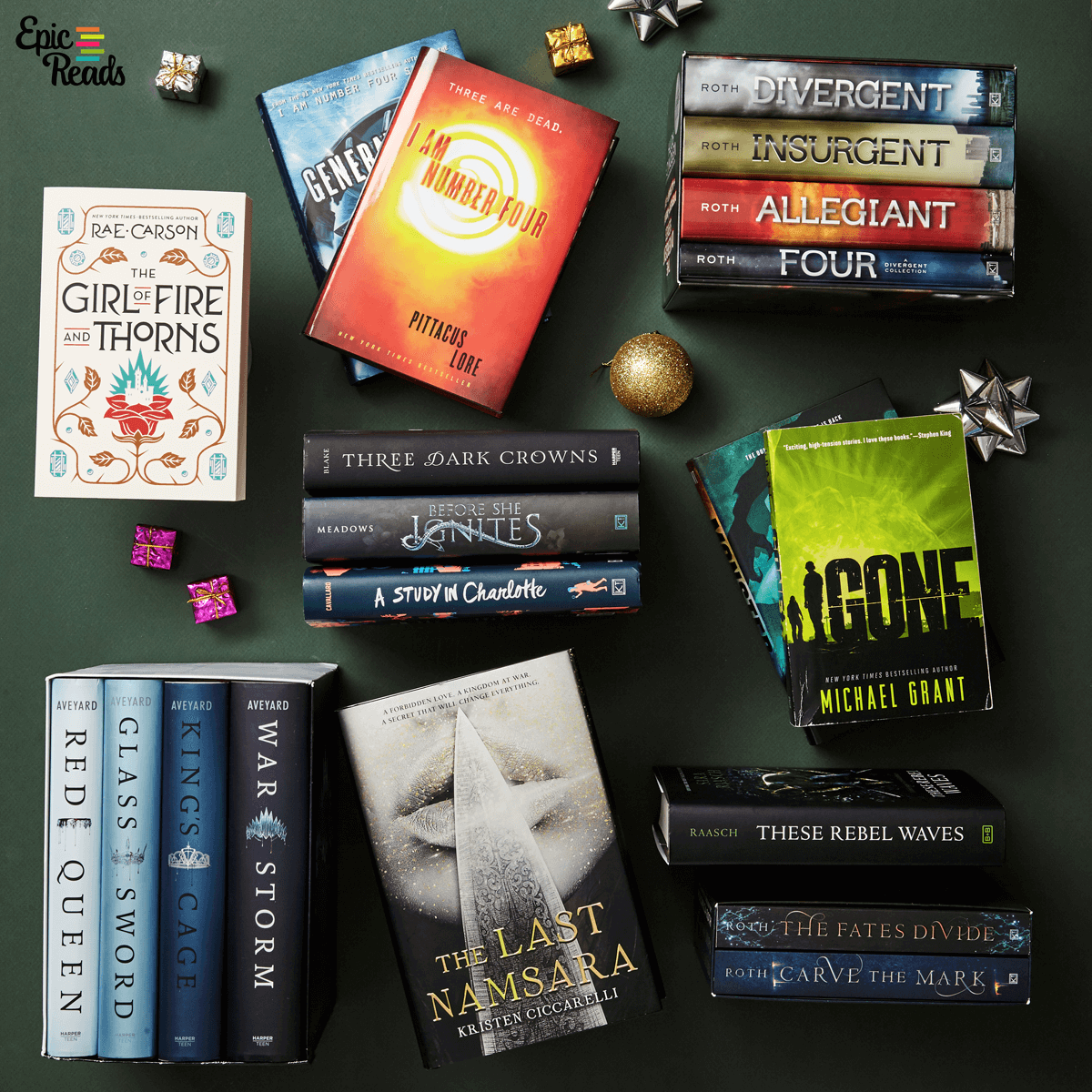 Epic Reads Gift Guide: Binge