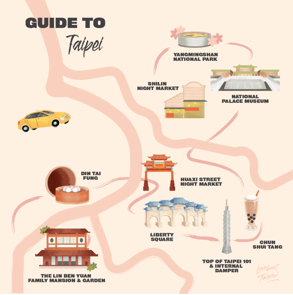 Epic Reads Guide to Taipei
