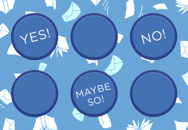 Vote Yes, No, or Maybe So on These Bookish Questions!