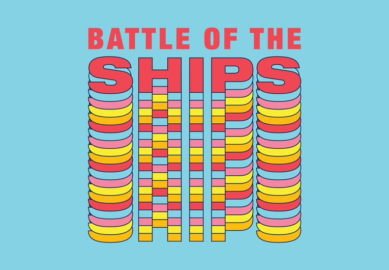 Battle of the Ships: Banner
