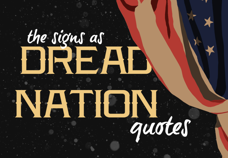 The Zodiac Signs as Quotes from 'Deathless Divide'