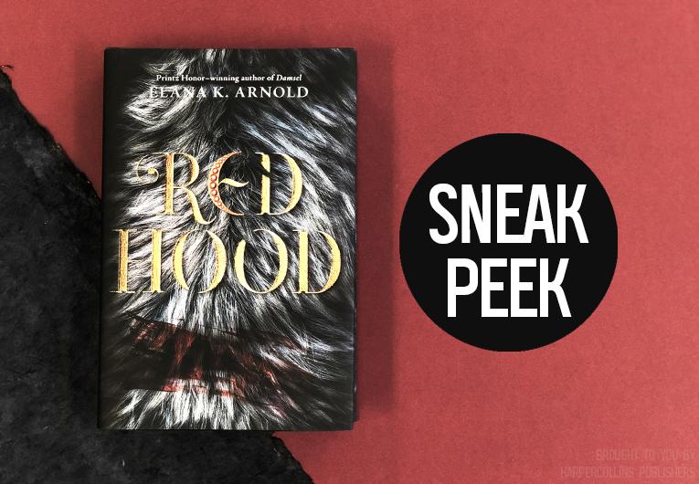 Start Reading This Dark, Dangerous Excerpt of 'Red Hood'