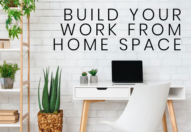 Build Your Work from Home Space and We'll Give You a Book to Read