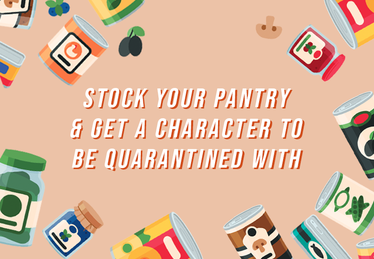 Stock Your Pantry and Get a YA Character To Be Quarantined With