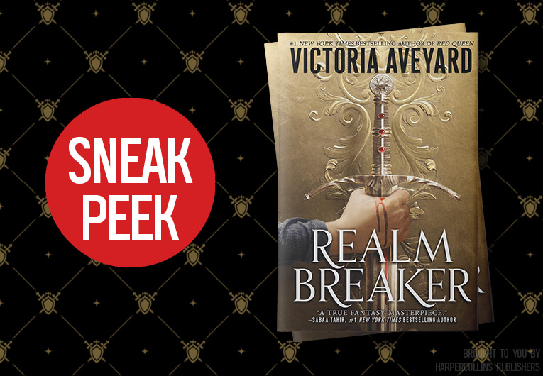 Start Reading 'Realm Breaker' by Victoria Aveyard!