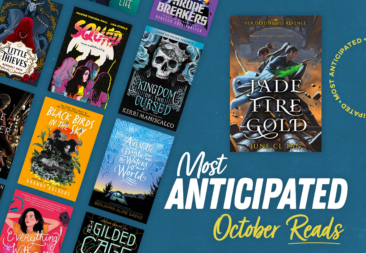 Most Anticipated October Reads
