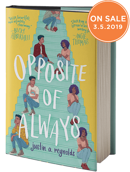 Opposite of Always Sweepstakes - Epic Reads Go