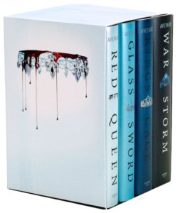Red Queen 4-Book Hardcover Box Se